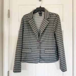 Soho Apparel Ltd. Striped Jacket - XL
